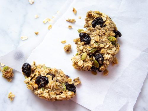The best meal prep clean eating breakfast cookies.